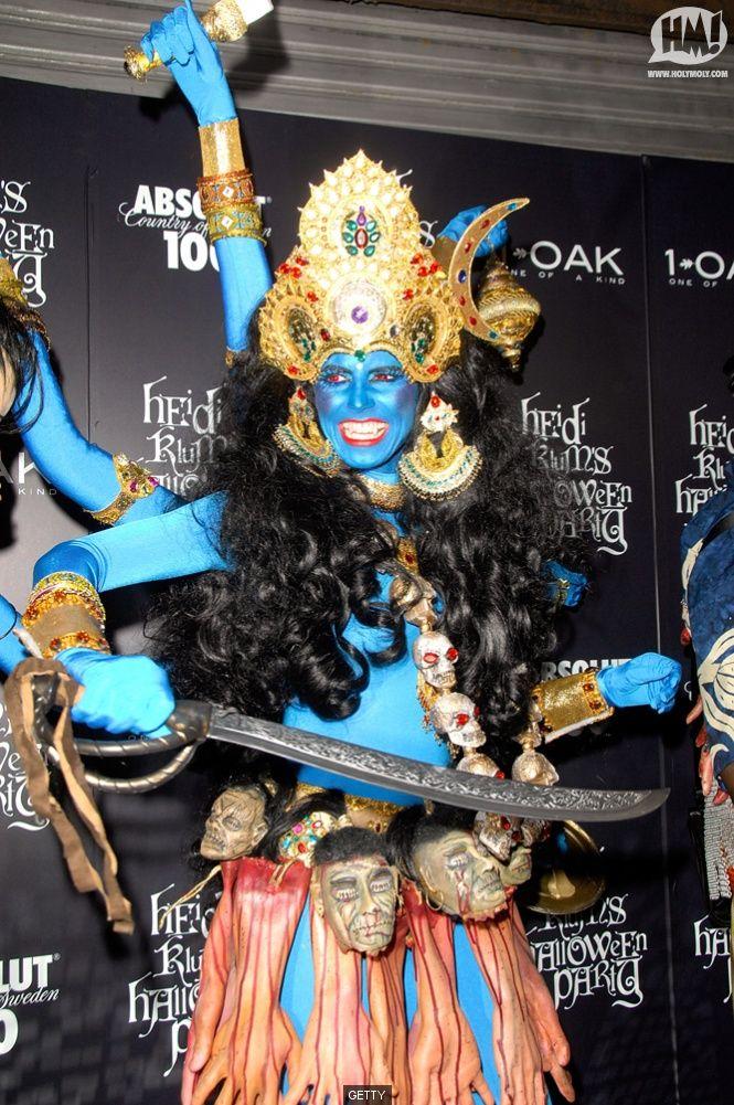 Heidi Klum Halloween Shiva.Shiva Halloween Es Su Cosa Here And There Heidi Klum Halloween