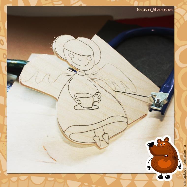 Создаем из фанеры «Кофейную Фею» - Ярмарка Мастеров - ручная работа, handmade