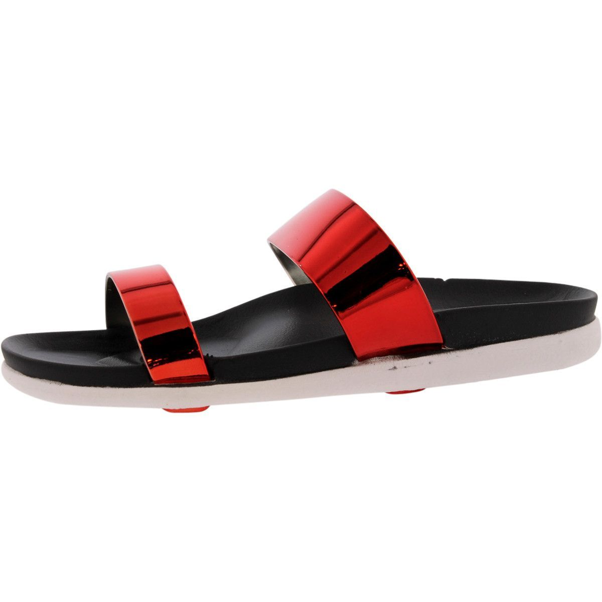 Refresh - Women's Jelly Metal Sandals - Red