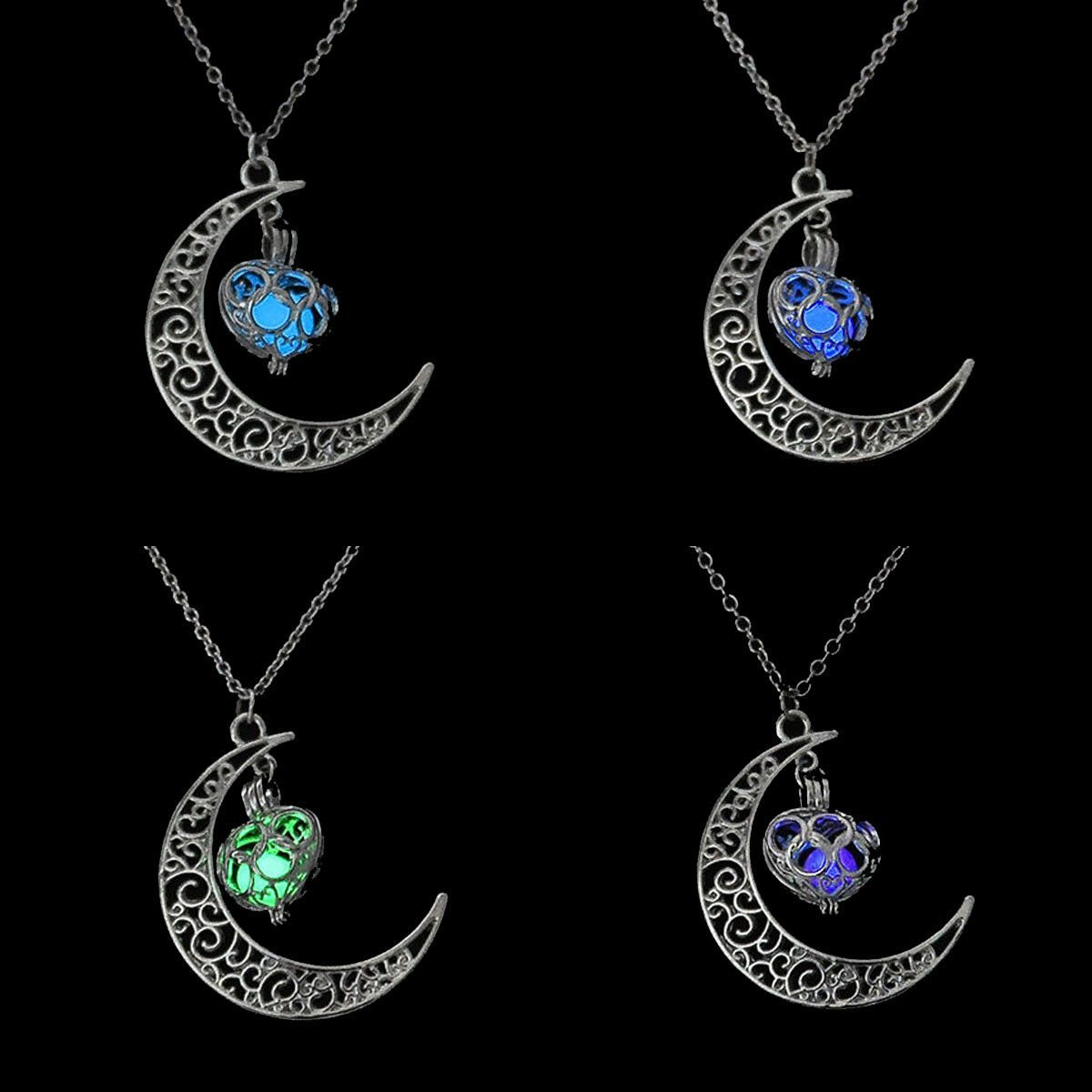 Glowing celtic moon pendant awesome pinterest glowing celtic moon pendant aloadofball Image collections