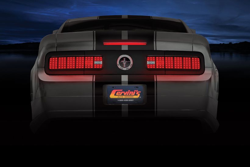 05 09 Mustang Tail Light Conversion Kit 2005 Ford Mustang