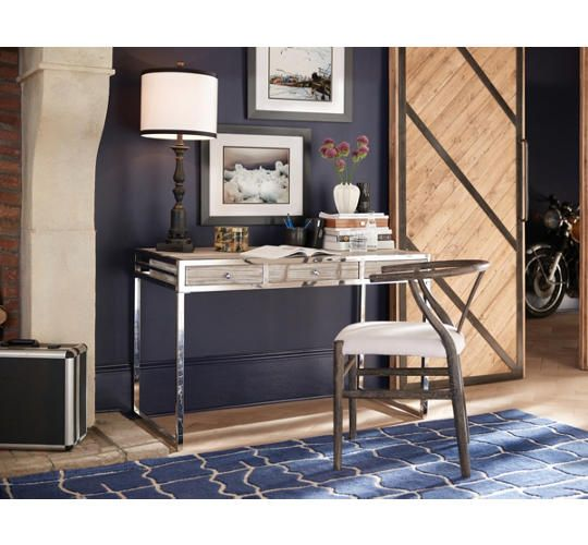 Eaton Fir Desk   Art Van Furniture