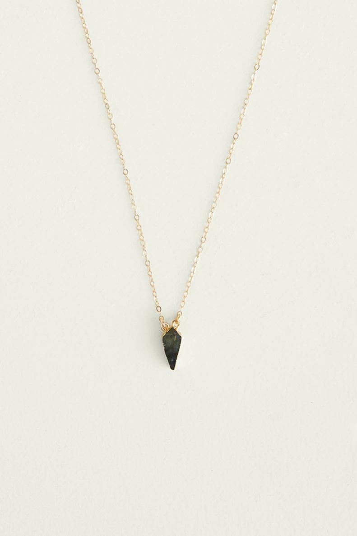 Labradorite Kite Necklace