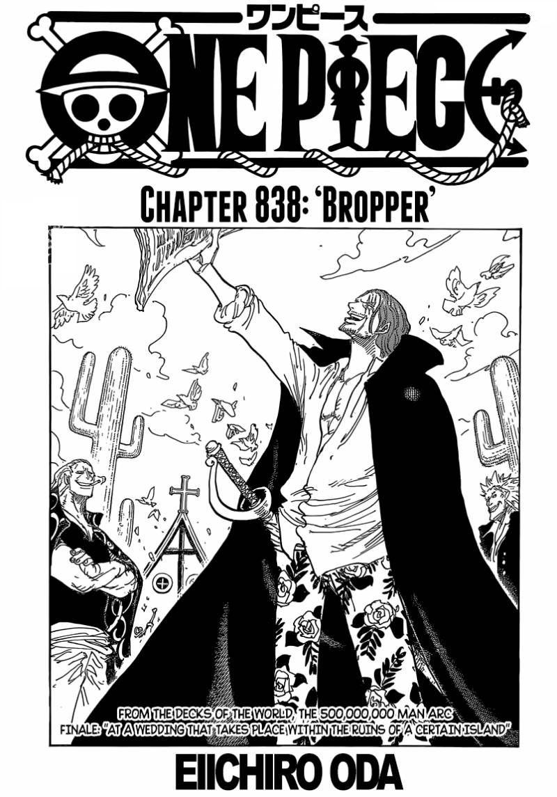 One Piece Chapter 838 The Latest Chapter Is Out At Mangafreak Manga Mangafreak Onepiece Manga Anime One Piece One Piece Chapter One Piece Anime