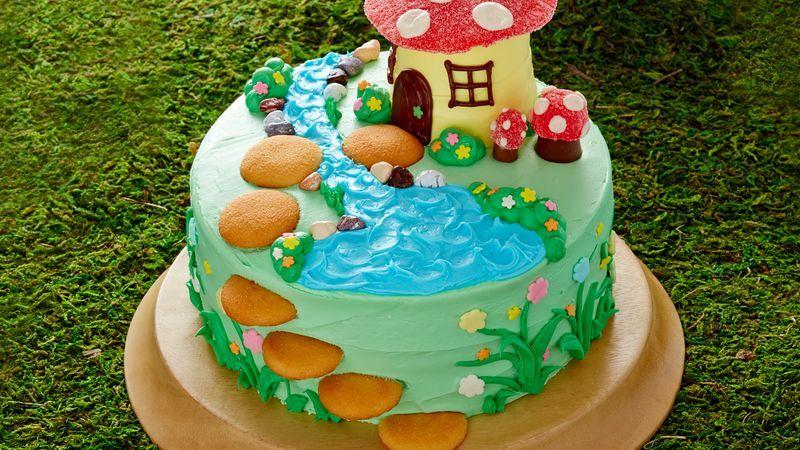 Fairy Garden Cake Recipe Fairy Garden Cake Toadstool Cake