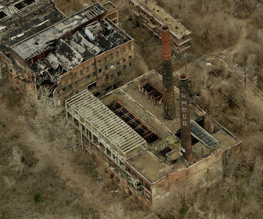 Haunted Abandoned Places In St Louis: Armour Meat Packing Plant East St. Louis (Abandoned But
