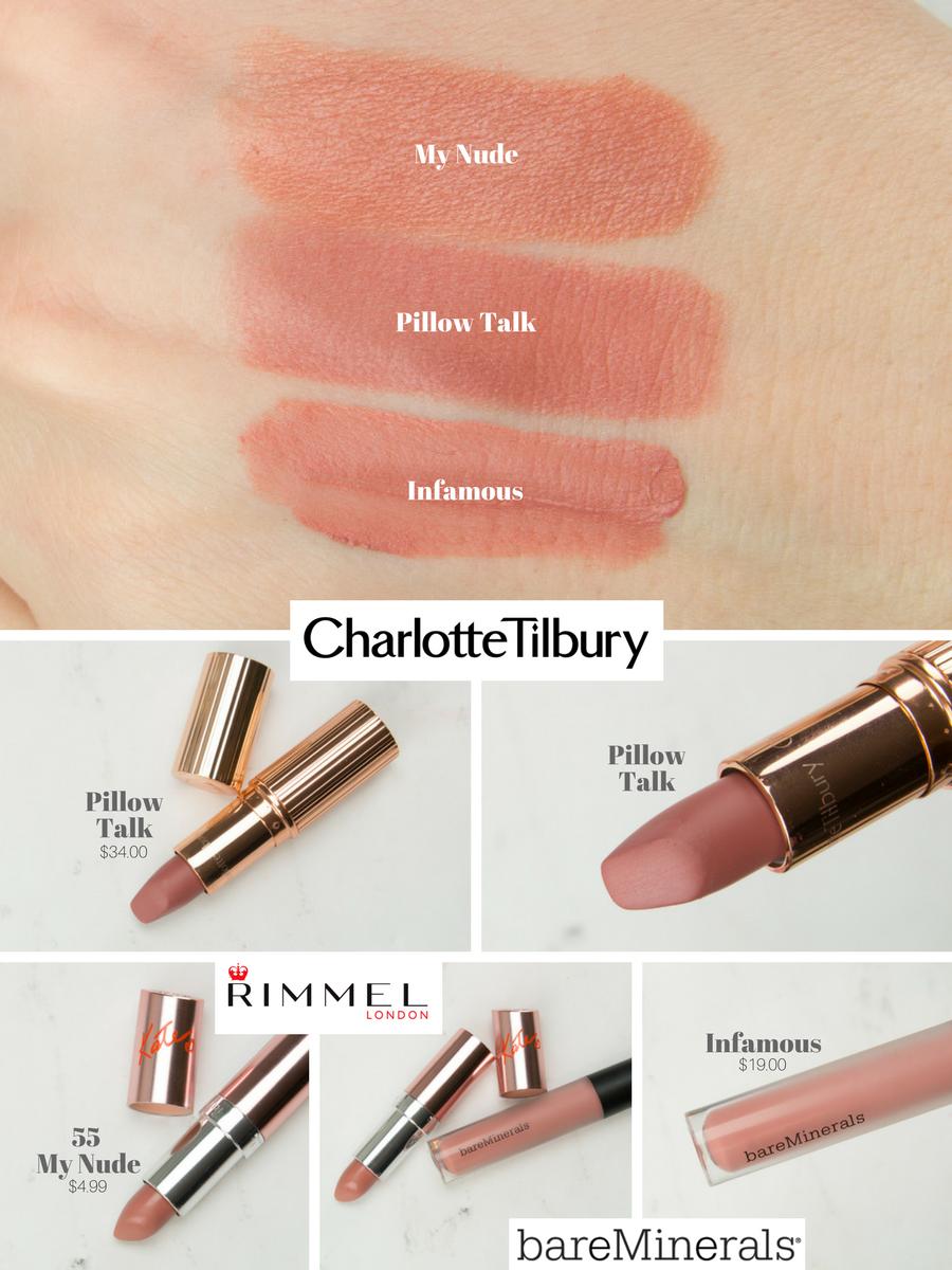 kluvminho penelope pink lipstick dupe