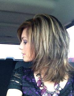 70 Darn Cool Medium Length Hairstyles For Thin Hair Hair Make Up