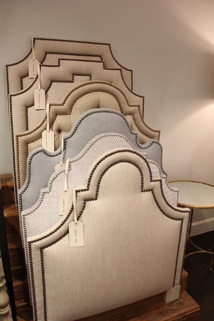 Boxwood interiors houston texas custom upholstered for Types of headboards