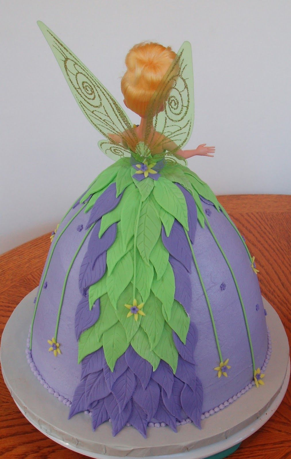 Cake Believe: Tinkerbell's Party Dress