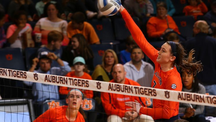 Volleyball Position Preview Outside Hitters Auburn University Athletics