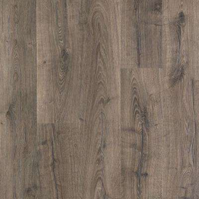 Gray Laminate Wood Flooring Laminate Flooring The Home Depot In 2020 Faux Wood Flooring Fake Wood Flooring Wood Laminate Flooring