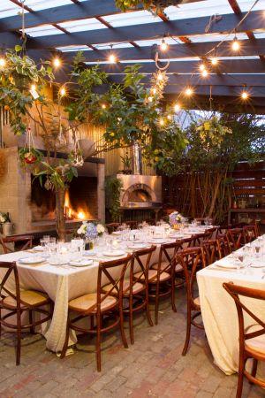 San Francisco Cafe Wedding From Julie Mikos Bistro Decor