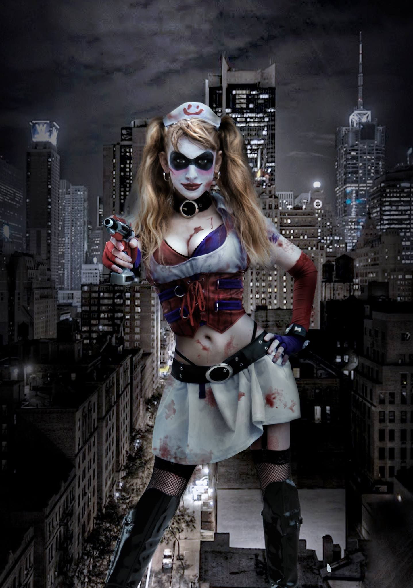 Batman Arkham Asylum Video Game - Harley Quinn Revealed ...