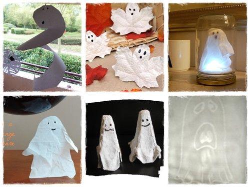 42 bricolages d 39 halloween de derni re minute halloween bricolage et derni re minute - Bricolage pour halloween ...