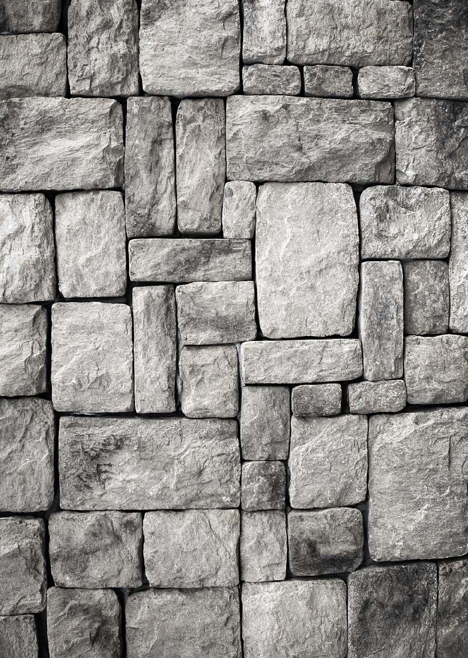 Papel Mural De Piedra Gris Paredes De Piedra Papel