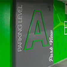 garage wayfinding signage design에 대한 이미지 검색결과