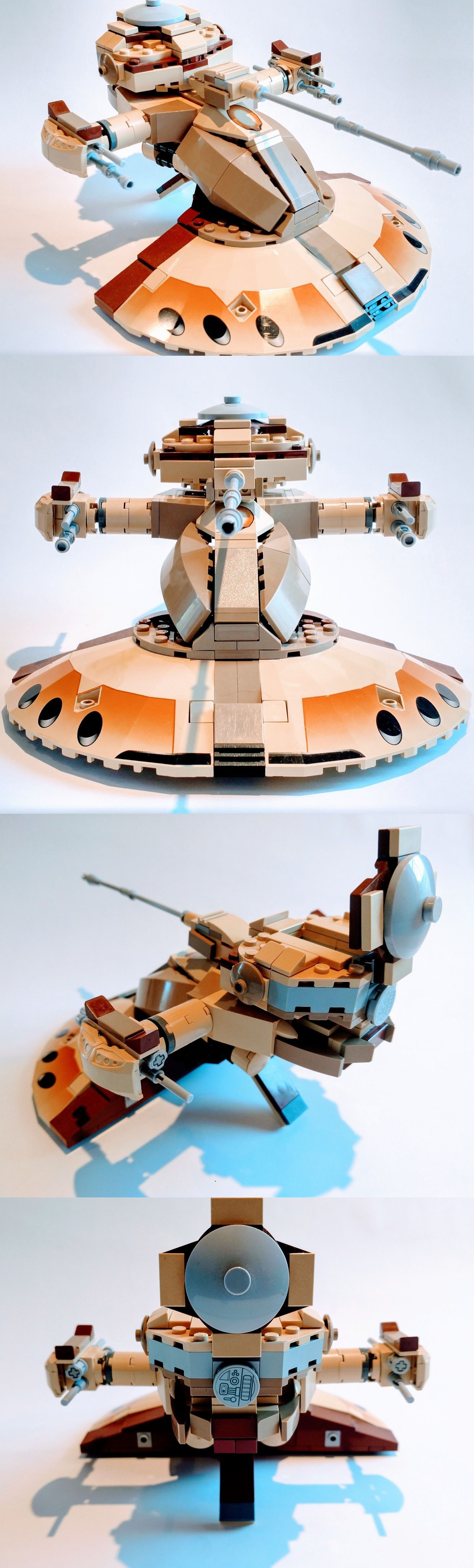 Parts List Instructions For Custom Lego Star Wars Aat Or Clone