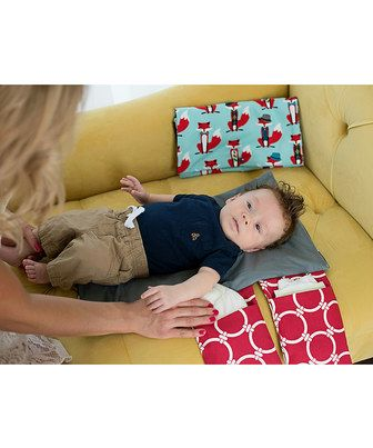 This Brownie Gifts Red Fox Diaper Clutch by Brownie Gifts is perfect! #zulilyfinds