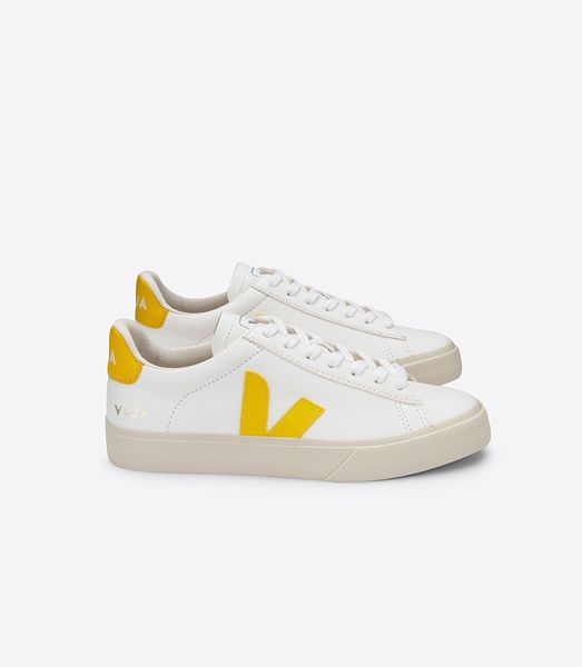 Veja Sneaker Damen Campo Easy Chromefree Leather Extra