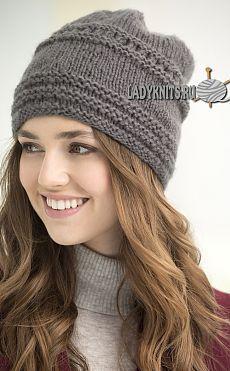 купить шапку спицами - Поиск в Google