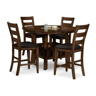 Harbor Pointe 5 Pc Counter Height Dinette Value City Furniture American Signature Furniture City Furniture
