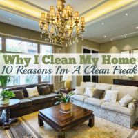 How to clean and organize your home so it's a calm environment for you and your family. Simple suggestions to motivate you to keep your home clean.