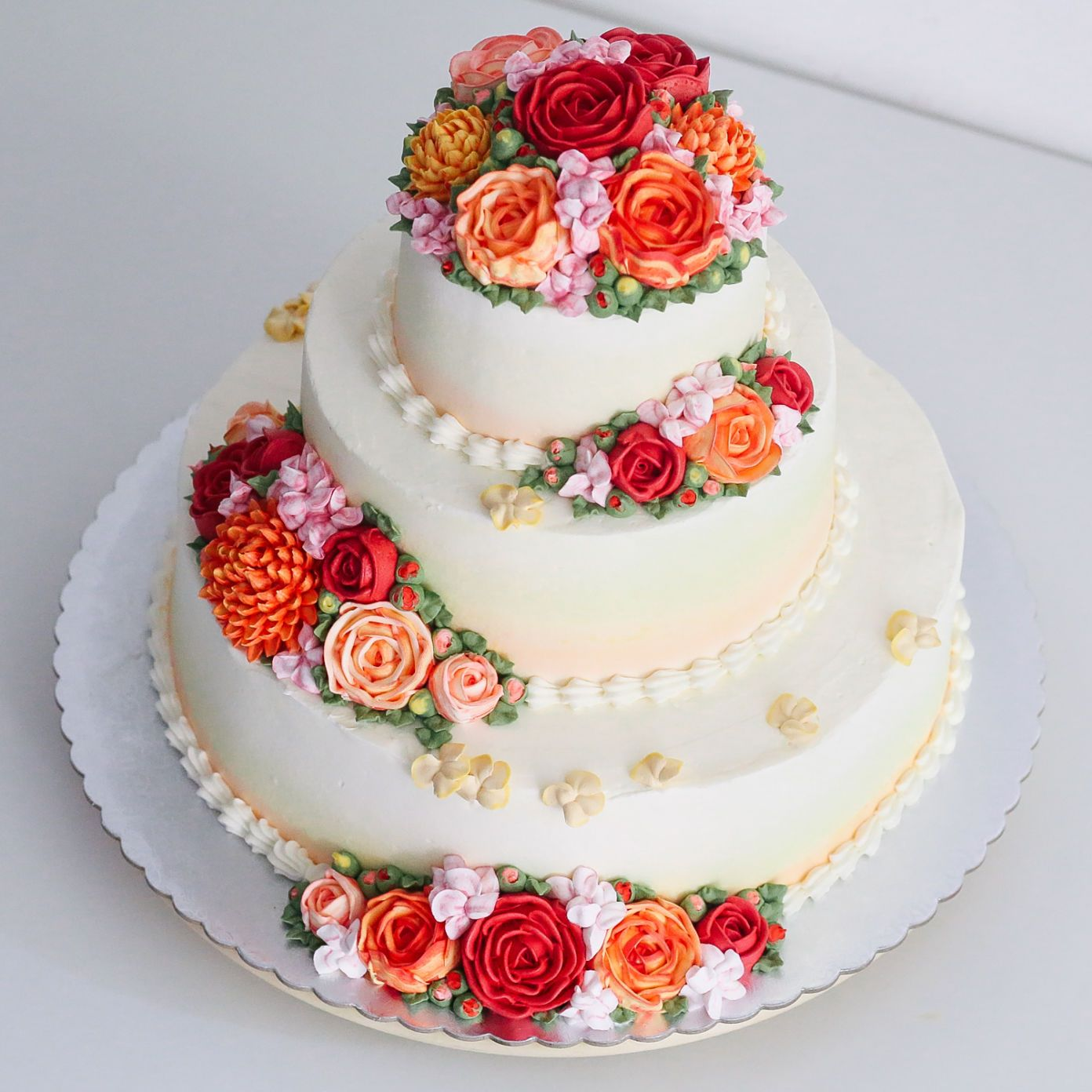 ANNIVERSARY OR BIRTHDAY CAKE by Ivenoven - 014 | Cakes | Pinterest ...