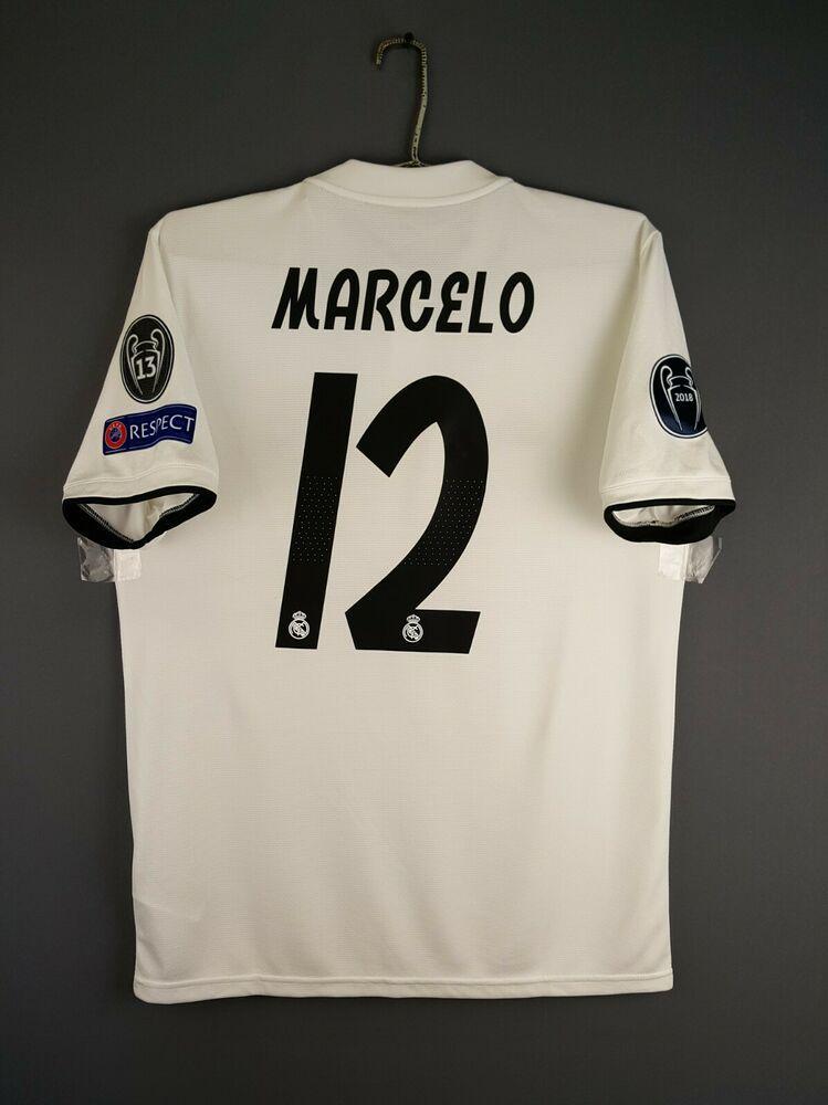half off df157 58b0a Advertisement(eBay) 5/5 Marcelo Real Madrid jersey medium ...