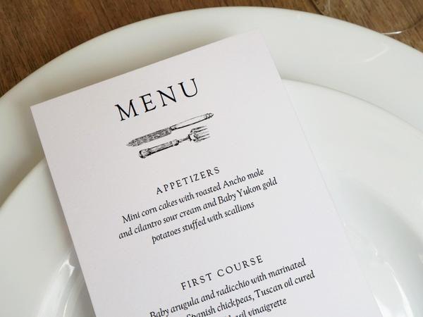 Printable Menu  Kate  Wills  Menu Card Design Menu Cards And
