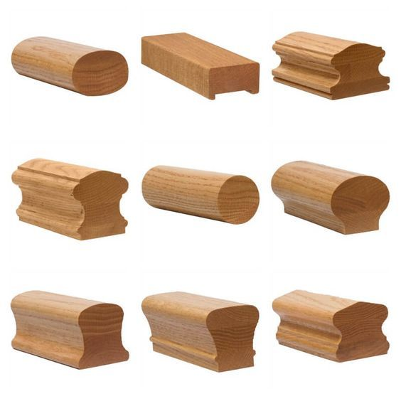 Handrail Profiles Stair Parts Com Stair Handrail Wood Handrail Wood Railing