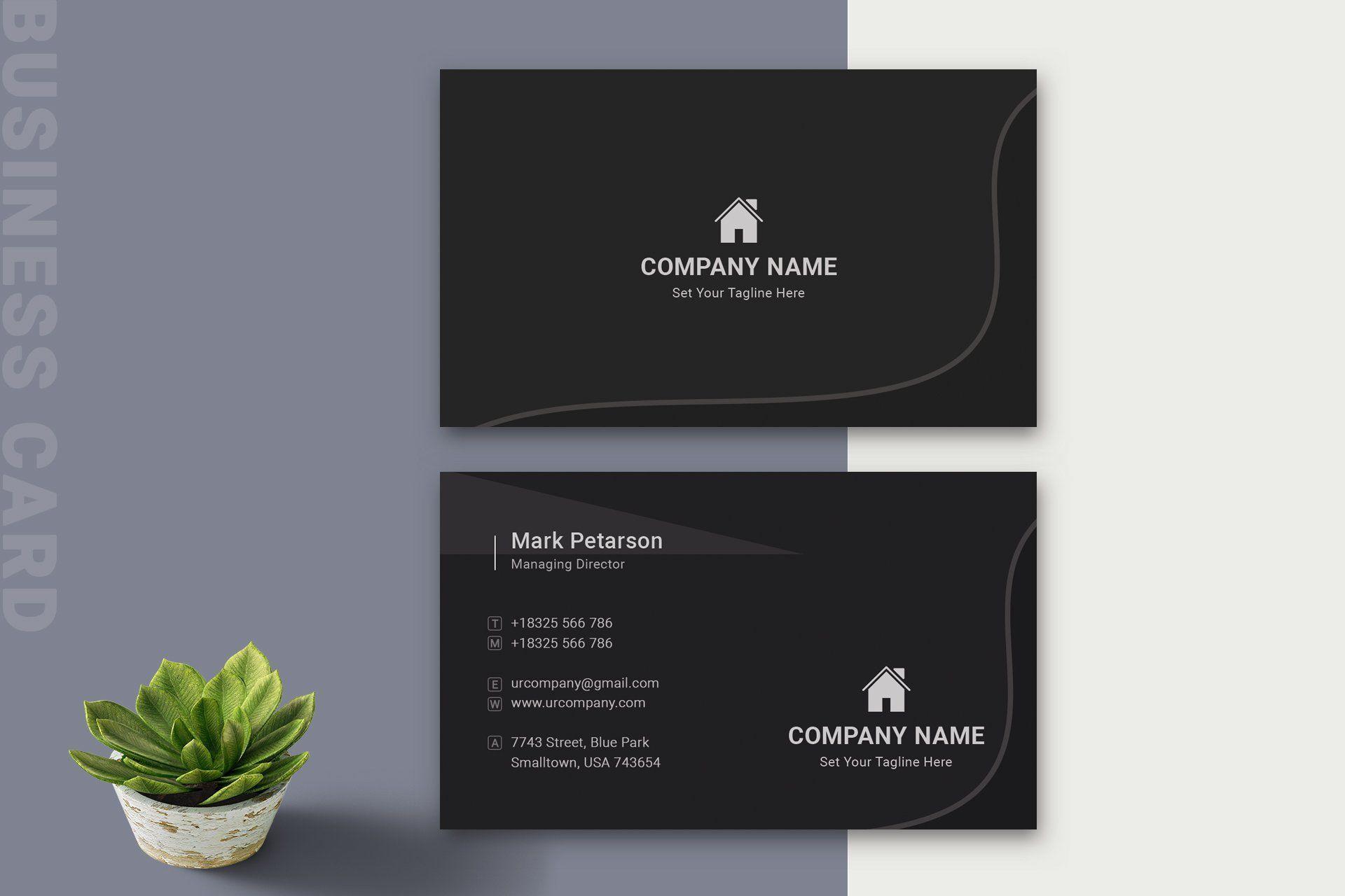 Business Card Modern Business Cards Unique Business Cards Minimal Business Card