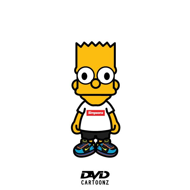 Cartoon Characters Supreme : Bart simpson supreme pictures to pin on pinterest daddy
