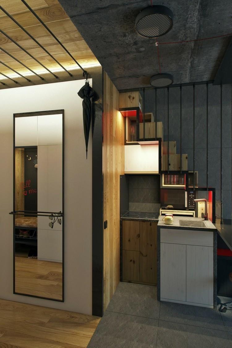 Kleine Böden sorgen für ein komfortables und frisches Design | Haus