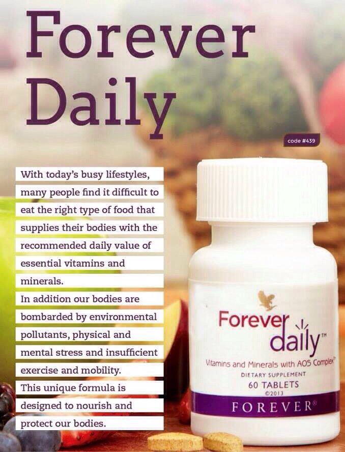 Image result for FOREVER DAILY