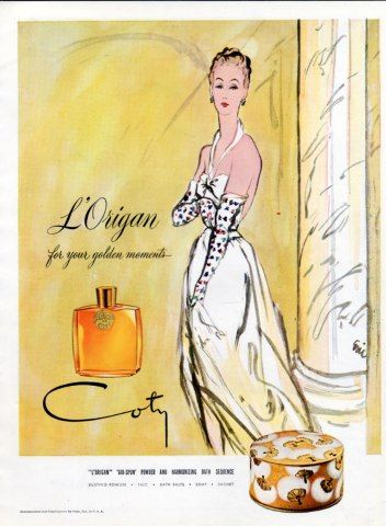 Coty (Perfumes) 1945 L'Origan, Eric