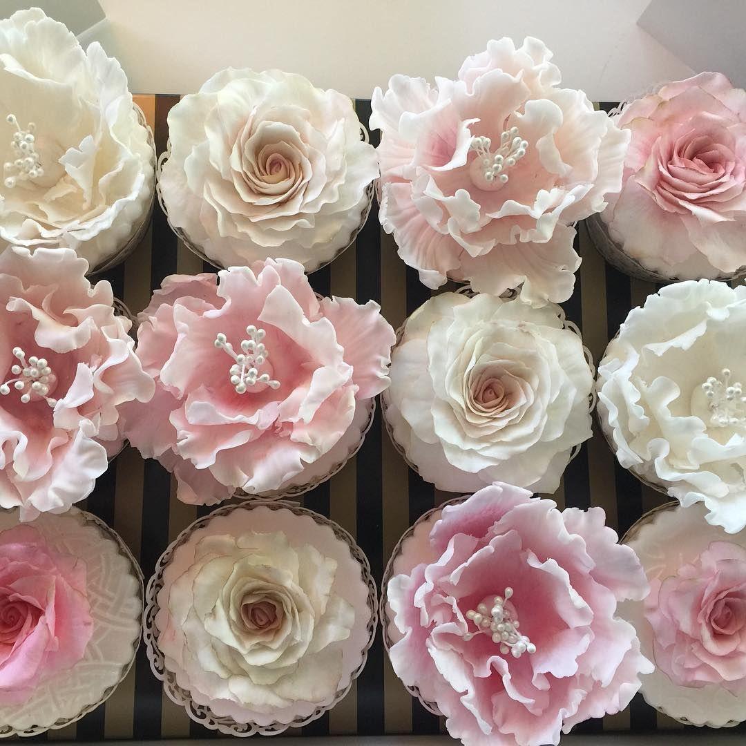 Pink Flower Cupcakes Reee Pinterest Flower Cupcakes Pretty