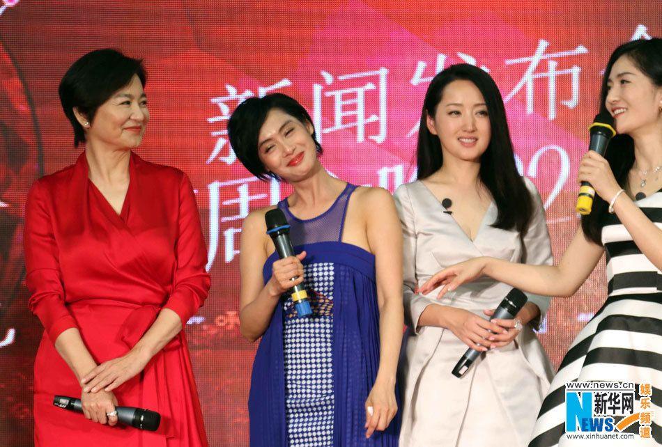 Brigitte Lin attends press conference for 'Up Idol'   http://www.chinaentertainmentnews.com/2015/07/brigitte-lin-attends-press-conference.html