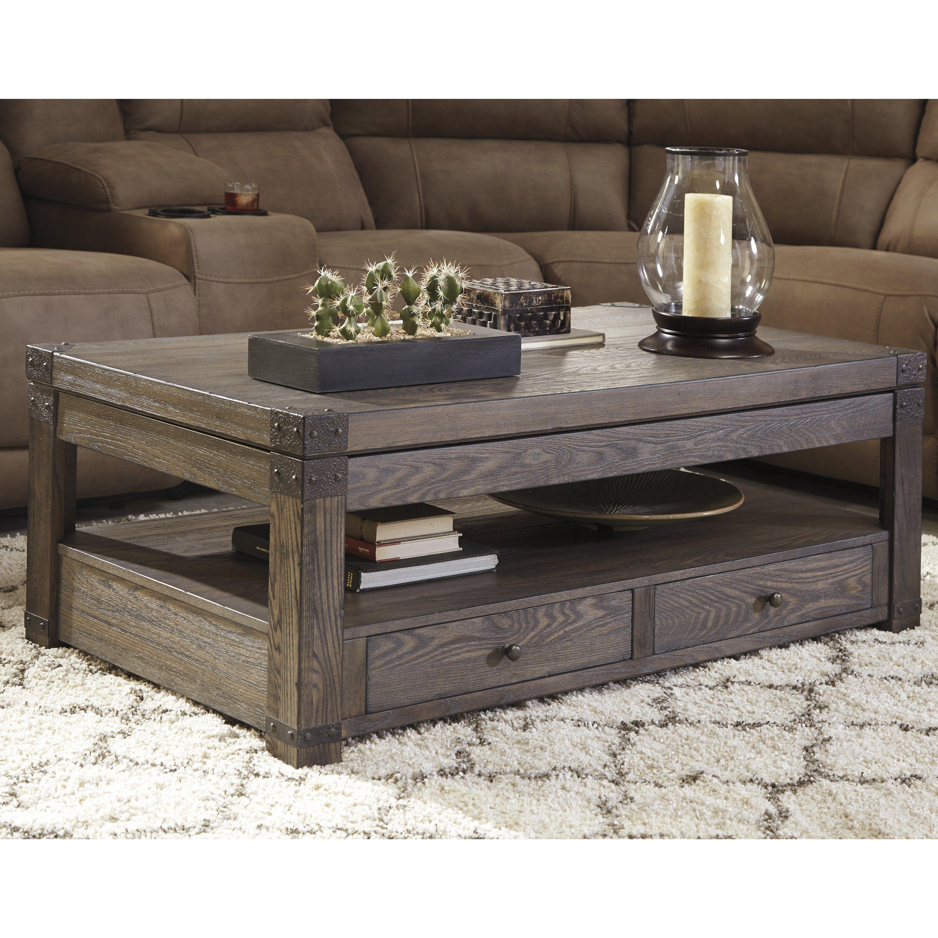 Loon Peak Reg Bryan Coffee Table With Lift Top Coffee Table Farmhouse Coffee Table Chic Coffee Table [ 3040 x 3040 Pixel ]