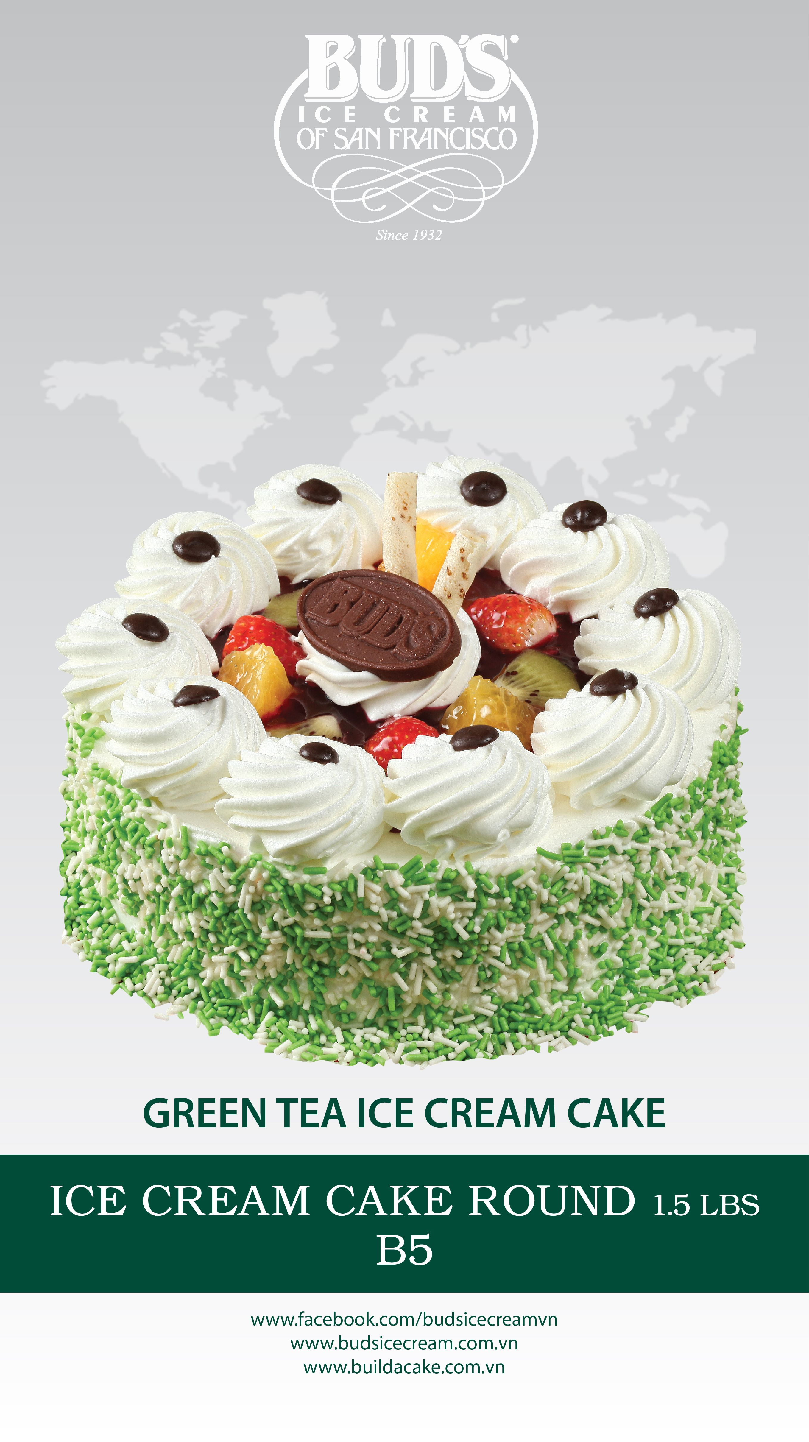 Pin by BUDs Ice Cream Vietnam on ICE CREAM CAKE  Pinterest