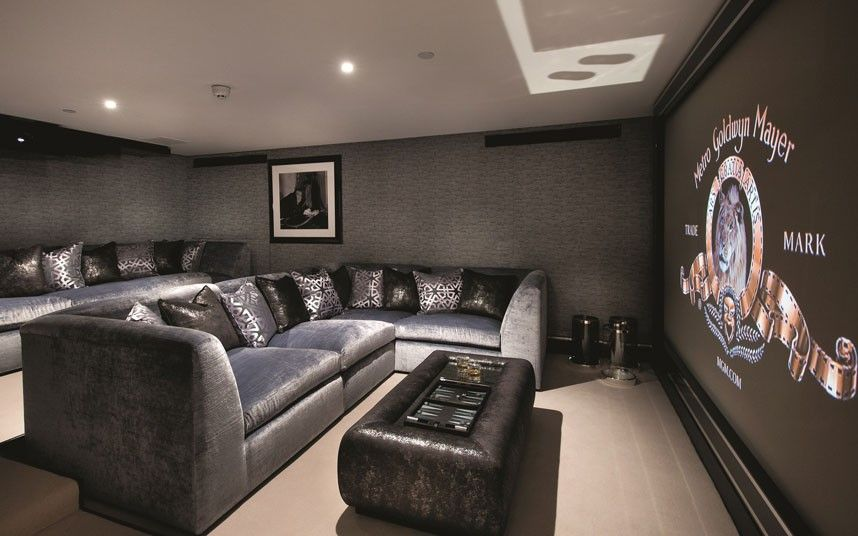 On Sale For £40m: The Last Property On Cornwall Terrace. Home Cinema  RoomTheatre ...
