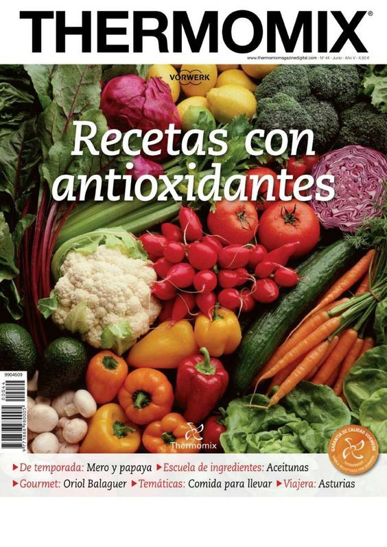 Cocina Al Vapor Thermomix | Cocina Al Vapor Con Thermomix Antioxidantes Thermomix Y Revistas