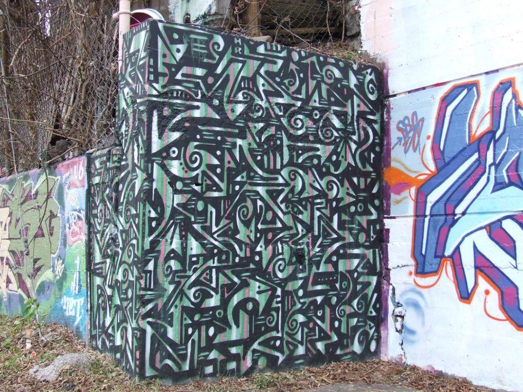 Graffiti wall toronto downtown - Graffiti Tag
