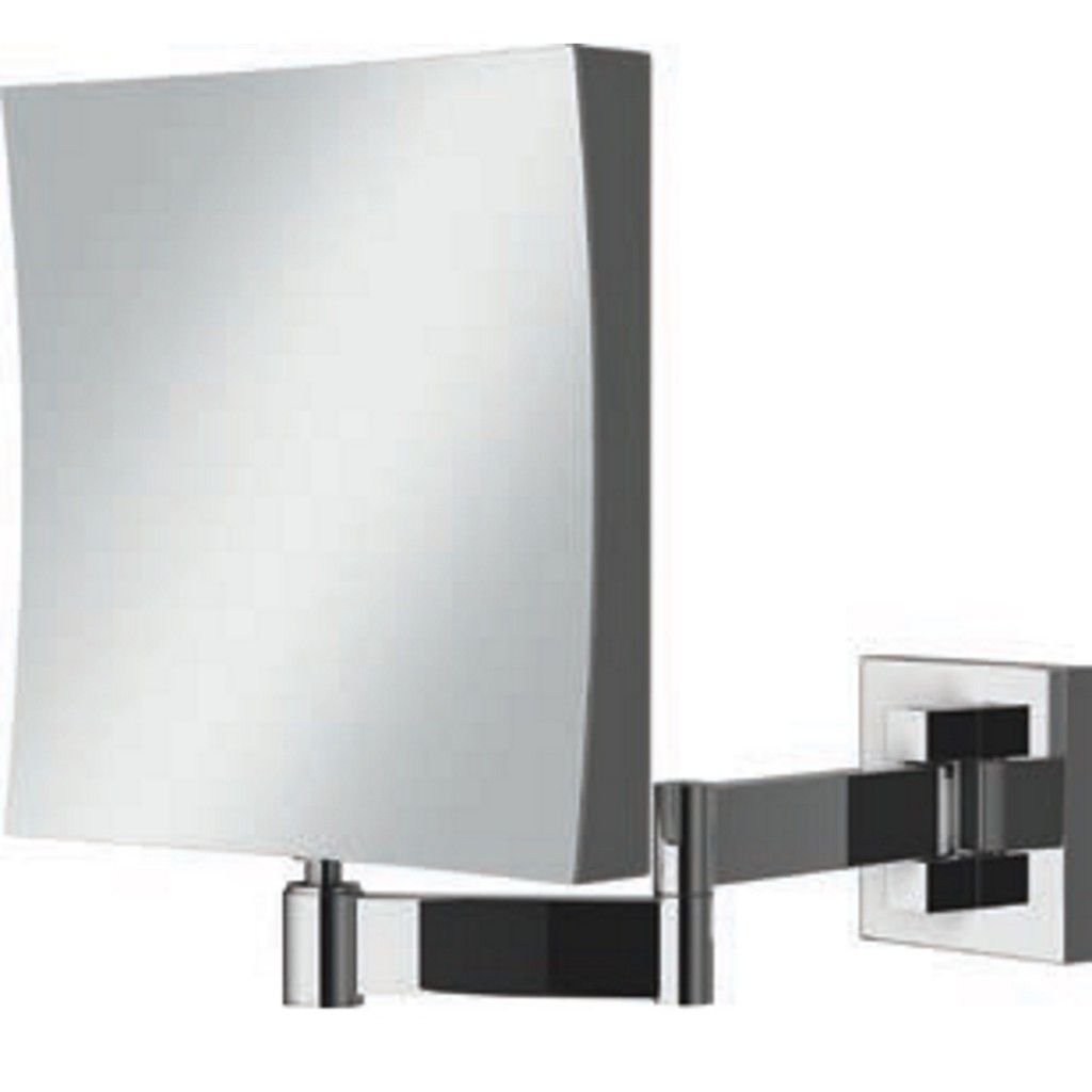 Picture Gallery For Website Mirror HiB Helix Square Magnifying Bathroom Mirror