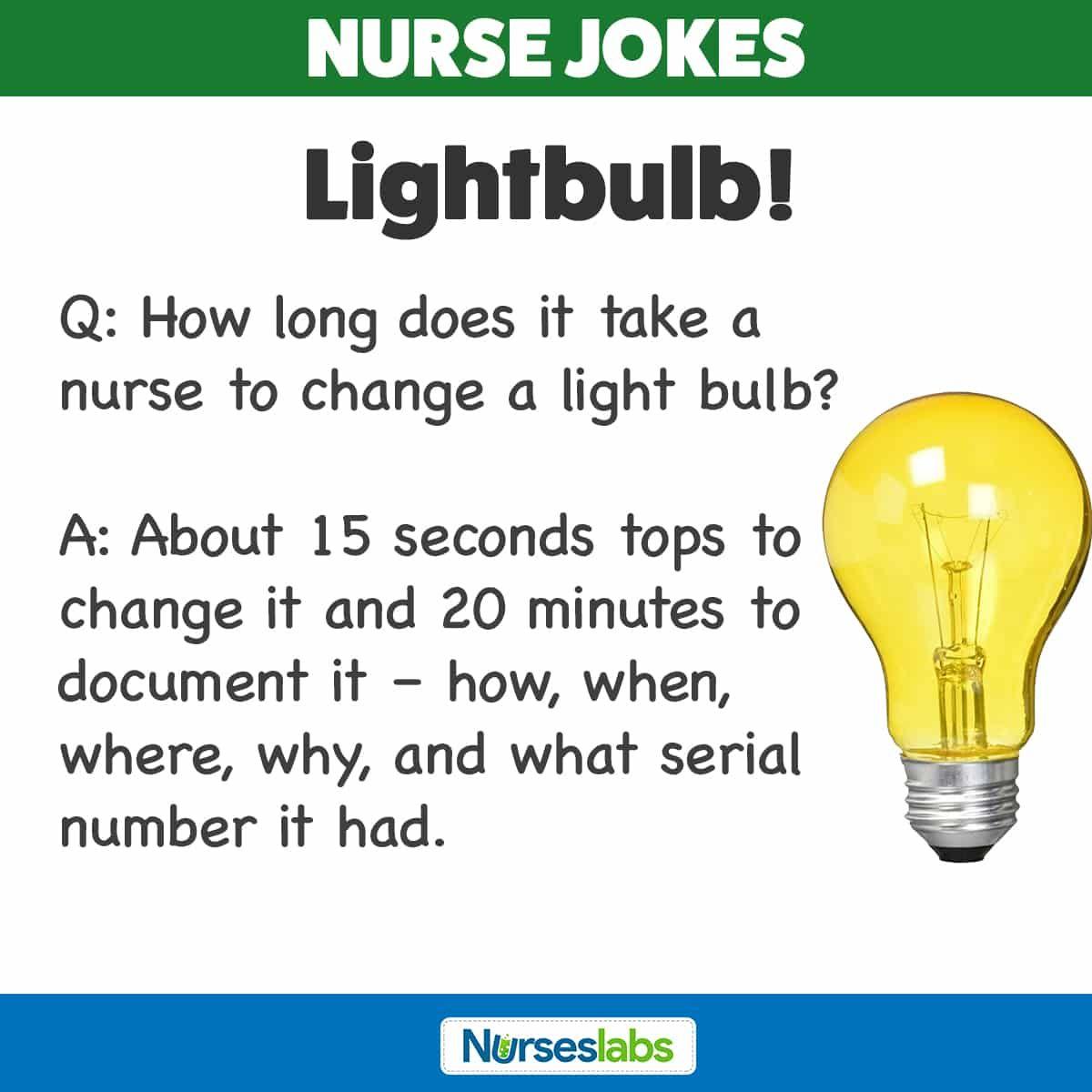 Jokes nurse 69+ Nursing