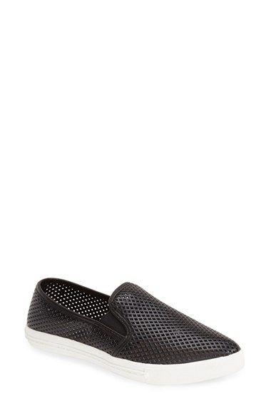 725737d2321 Steve Madden  Virggo  Perforated Slip-On Sneaker (Women) available at   Nordstrom…in white