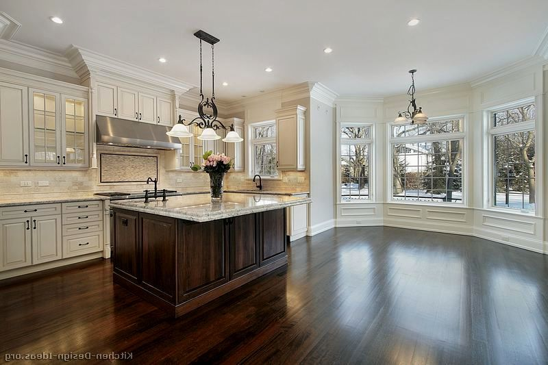 Tagged: dark wood floors with white cabinets Archives ...