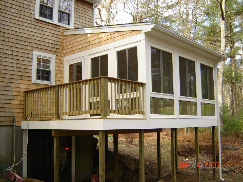 Luxury Build A Sunroom On A Deck