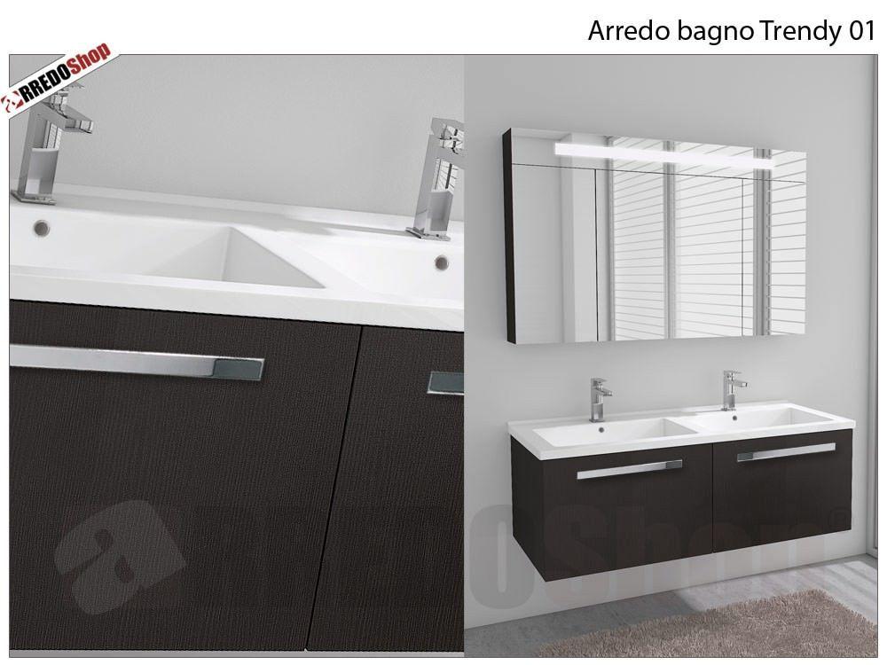 Anta Bagno ~ L arredo bagno rubix 02 è composto da: nr.1 base portalavabo a due
