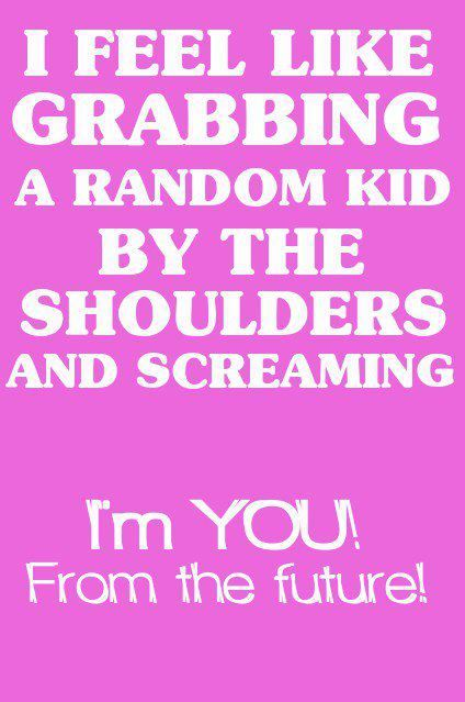 Bahaha! Yes! But I would make sure it's a little boy to freak him out even moreso...
